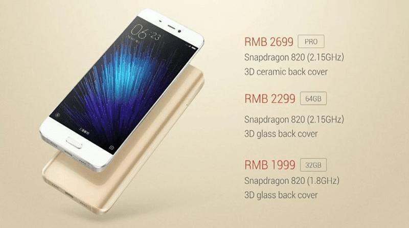 Xiaomi Mi5 launched!