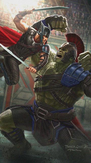 thor ragnarok HUlk vs Thor