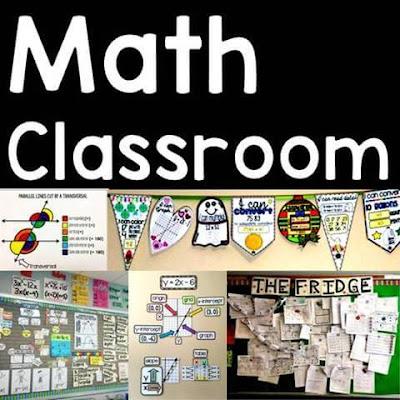 math classroom decoration ideas