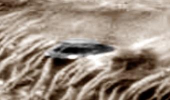 ¿De quien es el OVNI fotografiado en Marte?