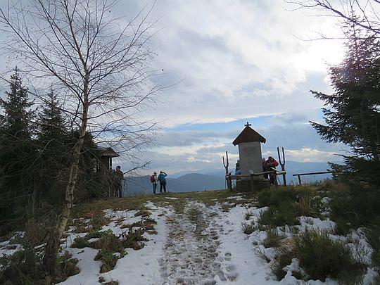 Wejście na szczyt Kutrzycy i Polanę Skalne.