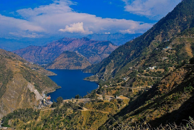 chamera lake dalhousie