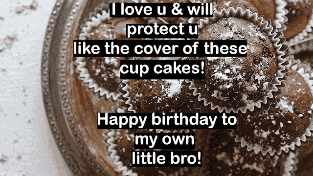 birthday wishes for brother with photo