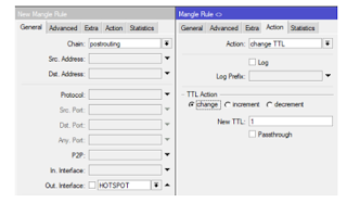 Firewall Mangle Restrict connection sharing with Change TTL In MikroTik.PNG