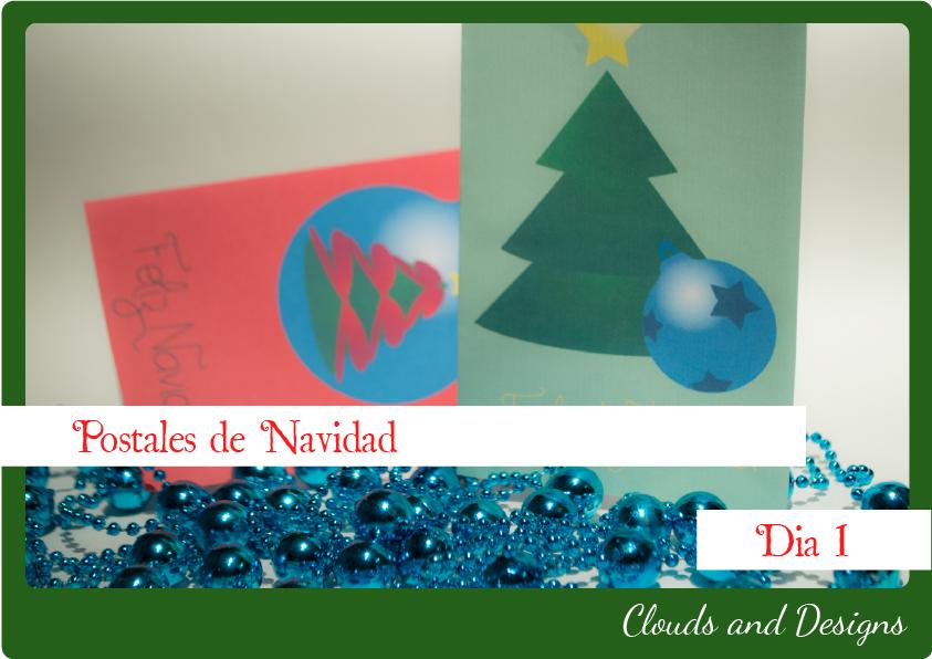 Adviento bloggero dia 1 Postales navidad
