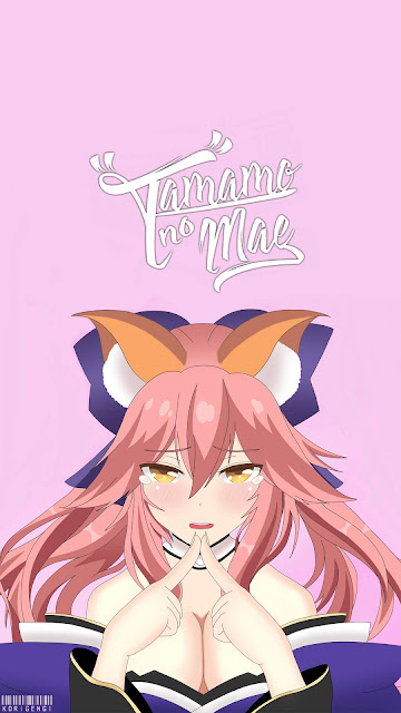 tamamo no mae wallpaper