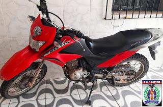 Polícia Militar recupera três motocicletas com registro de roubo/furto em Urbano Santos e São Bernardo do Maranhão