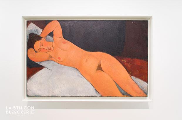 Museo de arte Guggenheim Nueva York modigliani