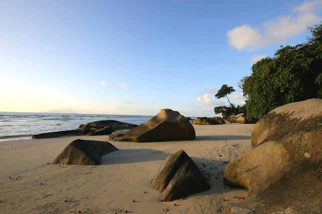 beach Mahe island