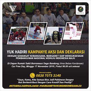 Memperingati Harii Pahlawan, FPMSI Bersama Gesit Akan Gelar Kampanye Aksi dan Deklarasi Wujudkan Indonesia Maju