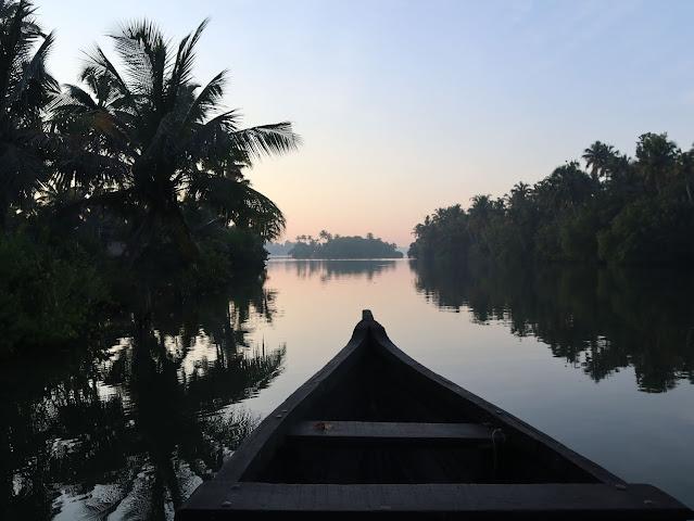 Backwater of Kerala