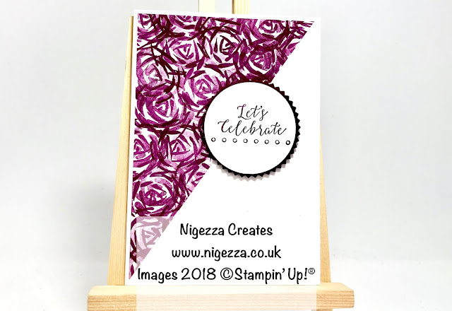 Nigezza Creates with Stampin Up Garden Impressions