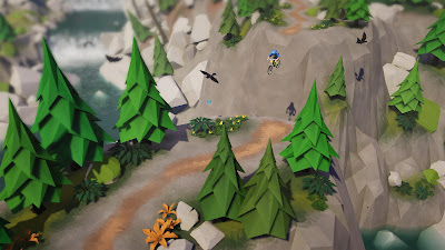 Lonely Mountains Downhill Game Screenshot 4