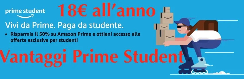 costo amazon prime student in italia