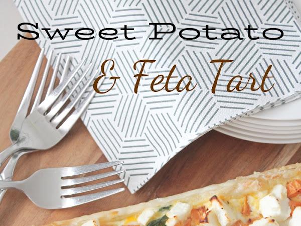 Sweet Potato and Feta Tart
