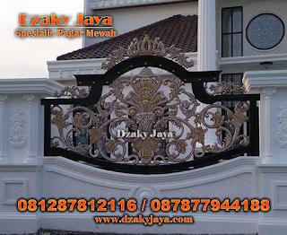 Model Pagar Tempa Klasik, Pagar Besi Tempa Klasik, Harga Pagar Besi Tempa Klasik