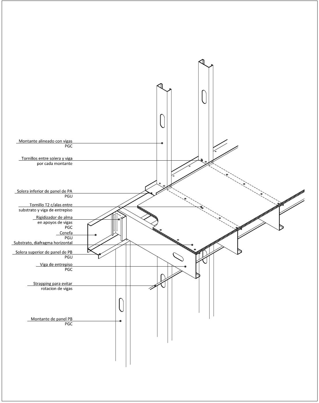Detalles constructivos cad detalles constructivos steelframe - Escalera metalica prefabricada ...