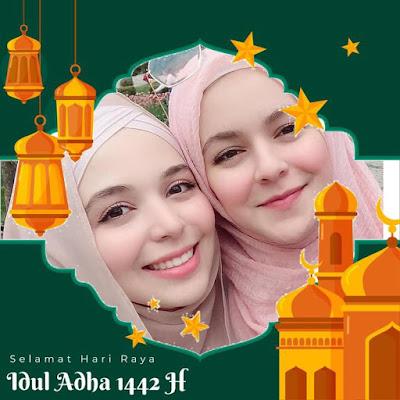 10+ Twibbone Idhul Adha 2021, Twibbon Idhul Adha 1442 h, Link Twibbon Idhul Adha