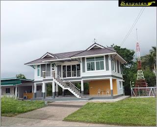 แบบบ้านทรงไทยประยุกต์สองชั้น