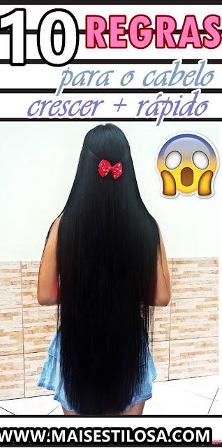 dicas para crescer o cabelo infaliveis