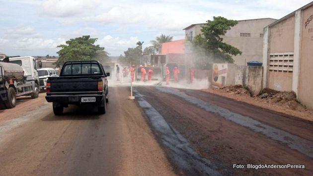 Finalmente: Obras da Rodovia PE-062 em andamento