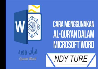 Al Quran, Microsoft, Word, Quran, QuranMicrosoft, QuranWord