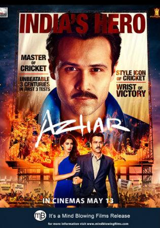 Poster of Azhar Full Hindi Movie Download Hd