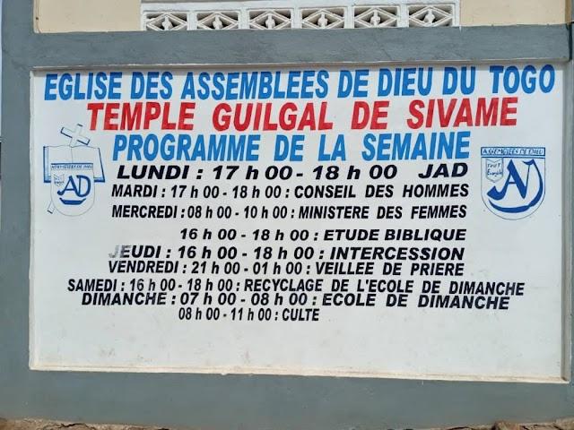 LACS 2/ Reprise des activités au Centre CDEJ Guigal  TG 0134 AD de Sivamè