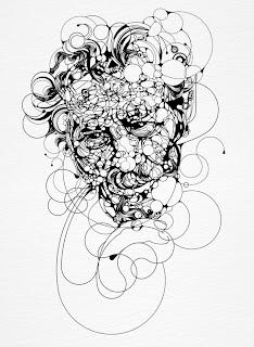 Ilustración blanco y negro