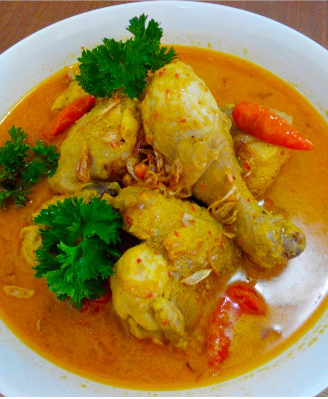 Resep Gulai Ayam Jawa : resep, gulai, Resep, Gulai, Masakan, Mudah