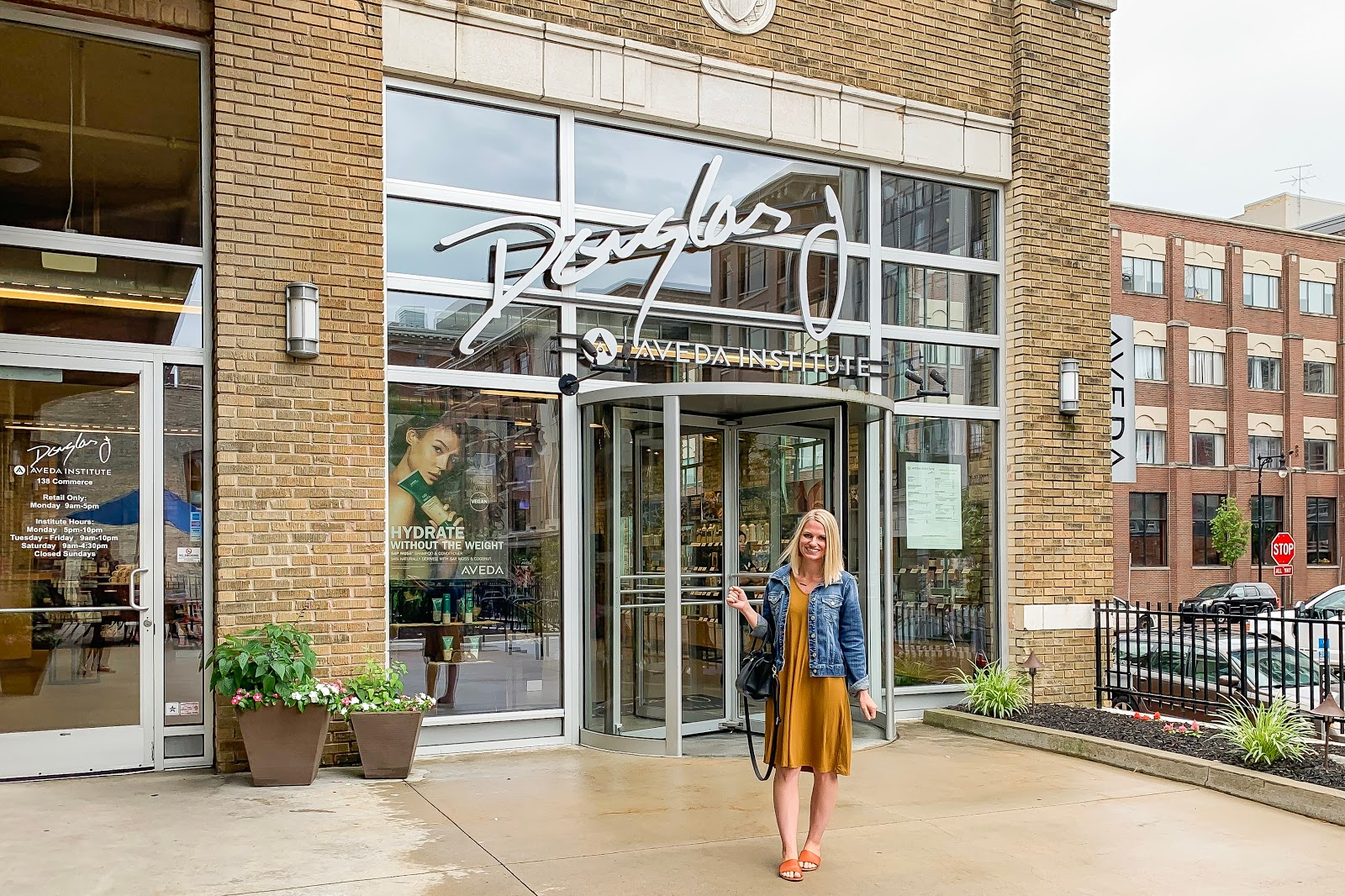 A Day at the Salon with Douglas J. Aveda Institute   Thrifty Wife ...