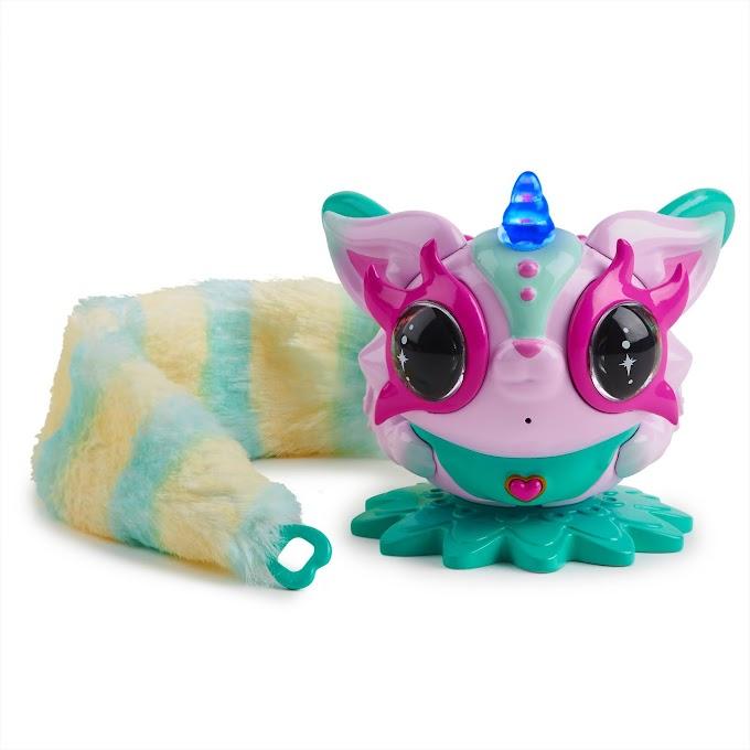 $5 (Reg.14.84) Pixie Belles - Rosie (Pink) - Interactive Electronic Pet with Bonus Tail @Walmart