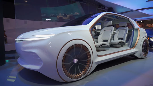 افضل السيارات المفاهيمية التي عرضت في معرض CES 2020