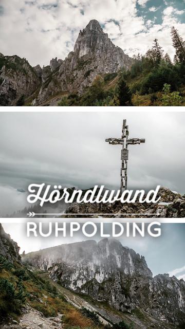 Ruhpolding  - Hörndlwand  Wandern Bayerische Alpen  Wanderung-Ruhpolding  Bergtour-Bayern  Wandern-im-Chiemgau 21