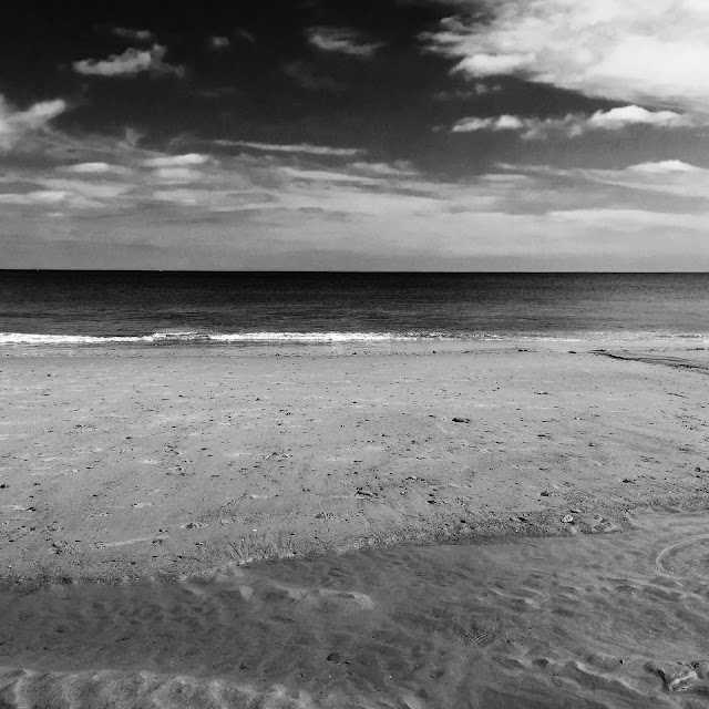 whitly bay each in black and white