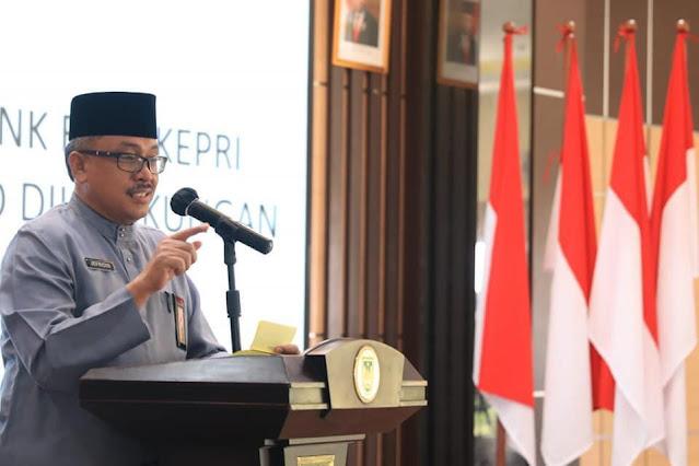 Sekdako Batam Sosialisasikan QRIS Bank Riau Kepri Untuk Meningkatkan PAD