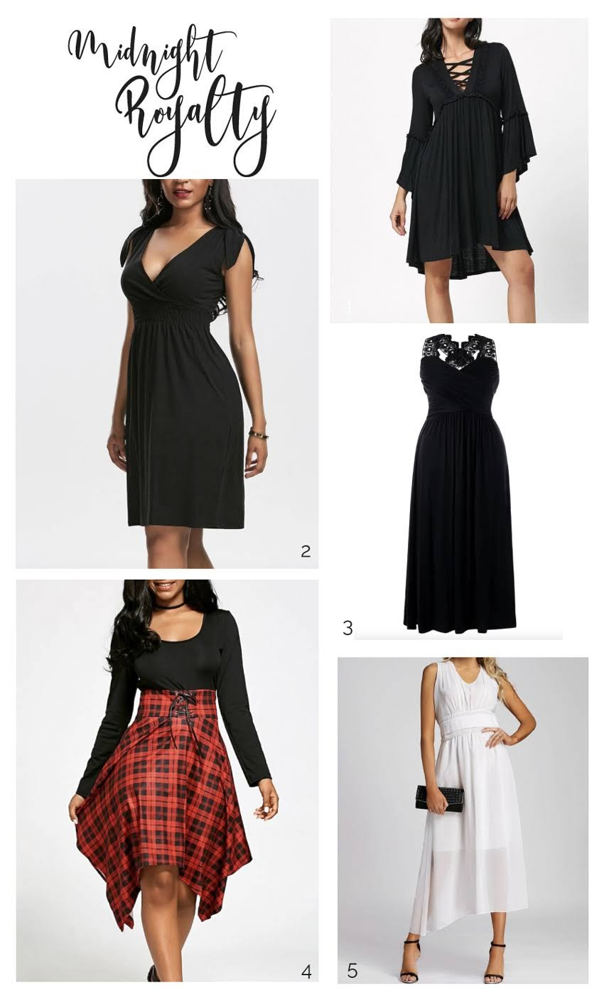 Empire Waist Dresses from Dresslily