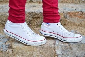 4 maneras de llevar... converse altas blancas