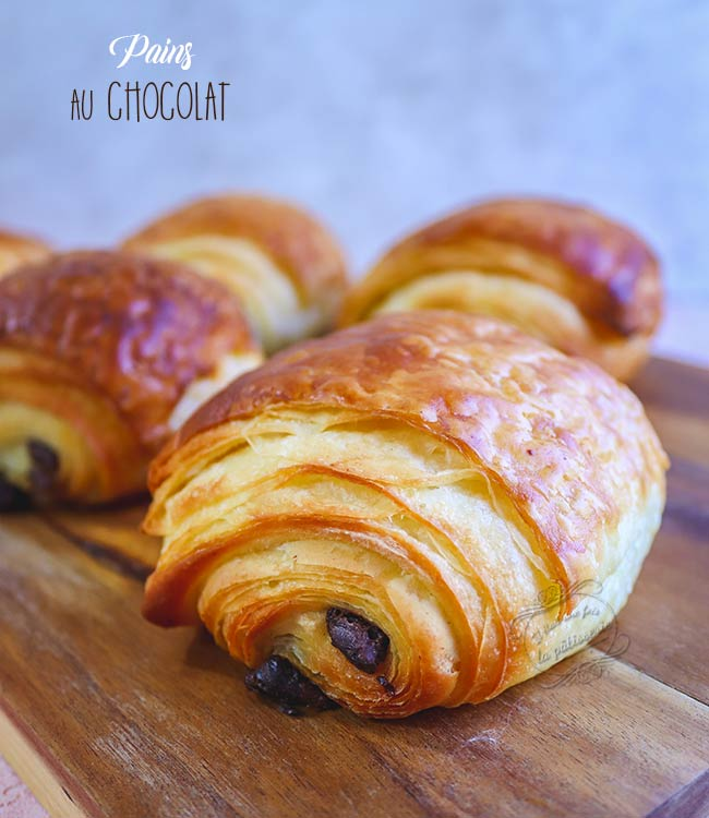 comment faire pains au chocolat
