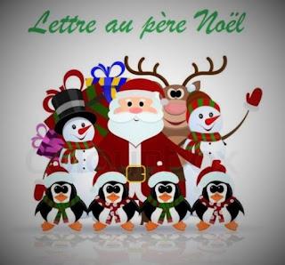 Lettre au Père Noël.