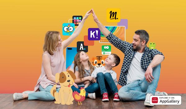 Huawei AppGallery apresenta o TOP 8 das aplicações mais populares para as famílias este Verão