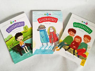 książkożercy, książki do nauki czytania, seria książek dla dzieci