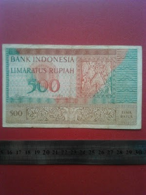500 rupiah tahun 1952