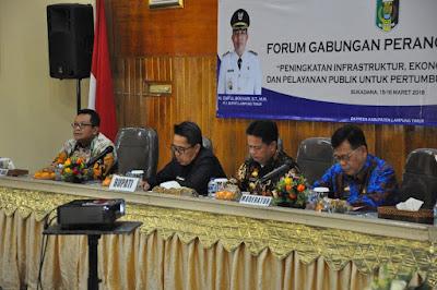 Sempurnakan Rancangan RKPD Lamtim 2019, FORGAB Jaring Aspirasi Masyarakat