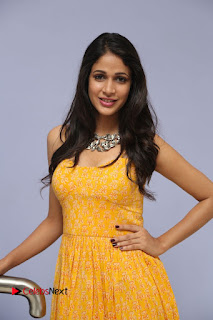 Actress Lavanya Tripathi Pictures in Yellow Dress at Srirastu Subhamastu Song Launch  0107.JPG