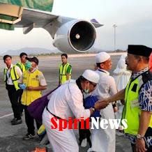 Karaeng Kio, Sapaan Akrab H Abd Rauf Malaganni, Jemput Jamaah Haji Asal di Pintu Pesawat