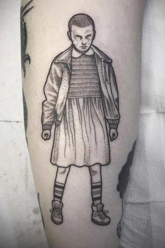 Eleven Tattoo Stranger Thing