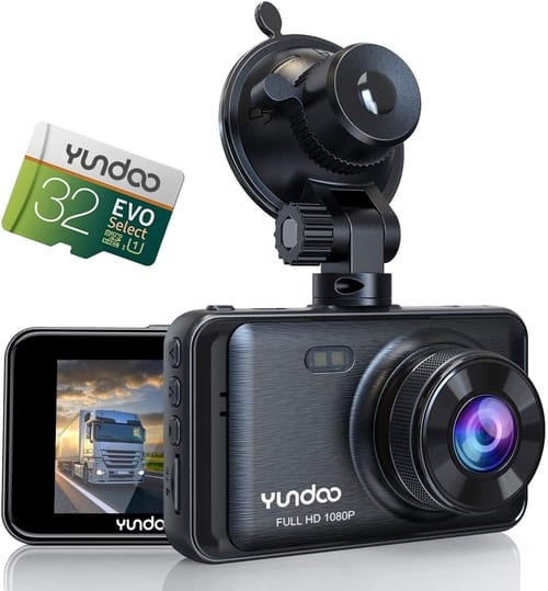 Review YUNDOO Y520 Full HD Dash Cam for Cars