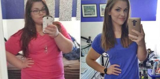 Wanita Ini Turunkan Berat Badan 45 Kg, Ini Rahasianya