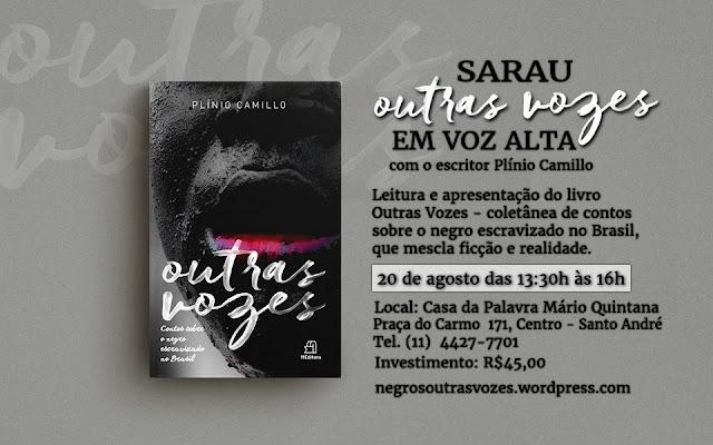"""SARAU: Outras vozes em alta / Apresentação do livro """"OUTRAS VOZES"""""""